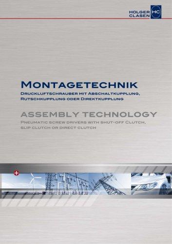 Montagetechnik - Druckluft-Drehschrauber