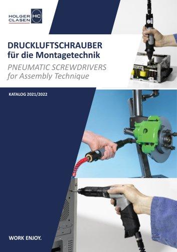 Werkzeug für die Montagetechnik - Druckluftschrauber