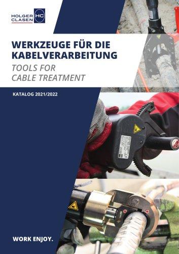 Werkzeuge für die Kabelverarbeitung