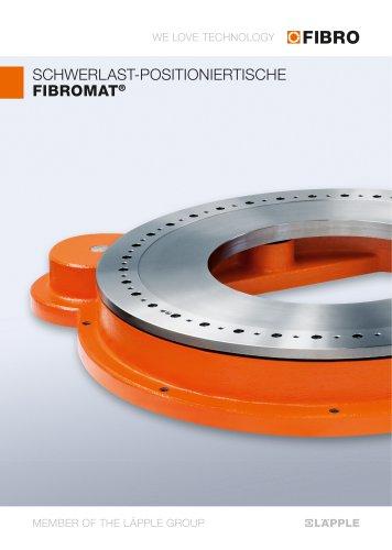 FIBROMAT  Ein Kraftpaket mit extrem großer Mittenbohrung & sehr flacher Bauweise zum optimalen Preis