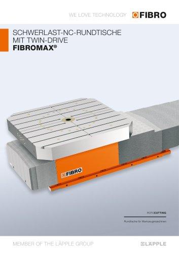 FIBROMAX  Schwerlastpositionier-tisch der zweiten Generation überzeugt mit hoher Steifigkeit und Effizienz