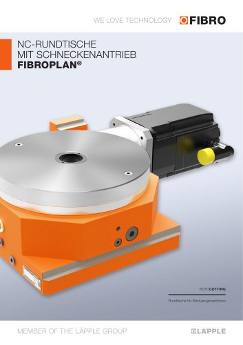 FIBROPLAN  In den Bauformen / -größen und Leistungs-daten sorgfältig abgestuft und ermöglicht eine optimale Gerätewahl