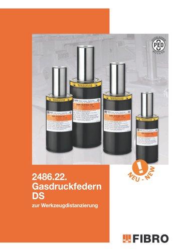 Gasdruckfeder DS zur Werkzeugdistanzierung