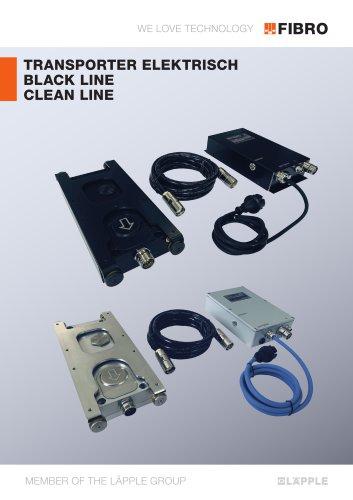 Transporter, elektrisch - BLACK LINE / CLEAN LINE