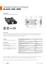 Transporter, elektrisch - BLACK LINE / CLEAN LINE - 4