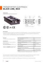 Transporter, elektrisch - BLACK LINE / CLEAN LINE - 6