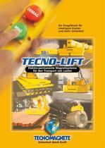 TECNOLIFT Elektro-permanente Magnetsysteme für den Transport von Lasten