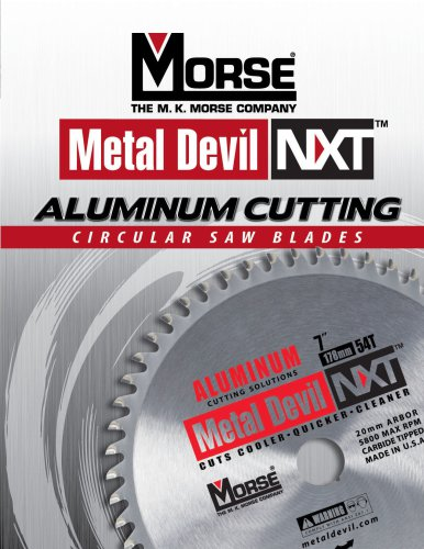 Metal Devil NXT Aluminum Blades Catalog