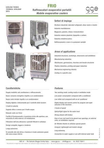 FRIO – Mobile evaporative coolers