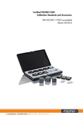 Calibration-TDS X-RAY Calibration Standards