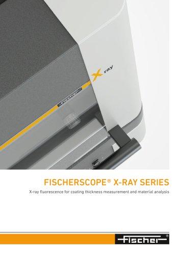 FISCHERSCOPE ® X-RAY SERIES