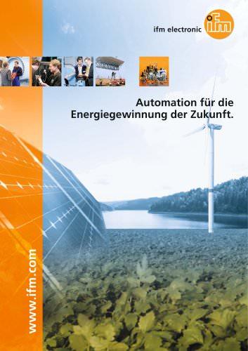 Automation für die Energiegewinnung der Zukunft.