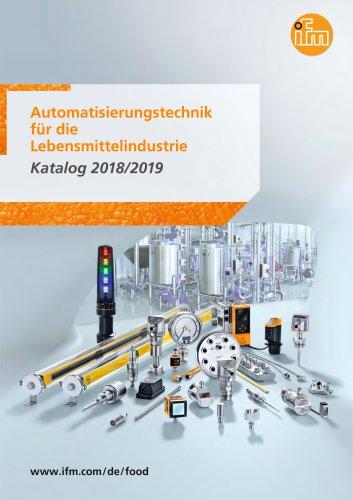 Automatisierungstechnik für die Lebensmittelindustrie 2018/2019
