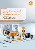 Automatisierungstechnik für die Verpackungsmaschinenindustrie Katalog 2019/2020 - 1