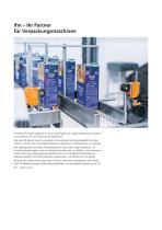 Automatisierungstechnik für die Verpackungsmaschinenindustrie Katalog 2019/2020 - 2