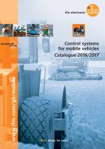 Control systems for mobile vehicles Catalogue 2016/2017