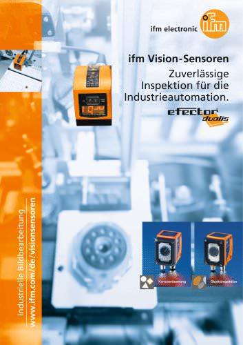 ifm Vision-Sensoren Zuverlässige Inspektion für die Industrieautomation.