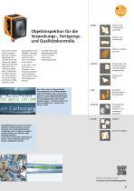 Industrielle Bildverarbeitung 2016. Mit Vision-Sensoren Objekte und Szenarien erkennen und bewerten. - 10