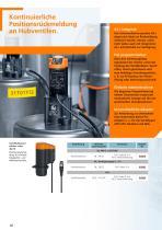 Rückmeldesysteme für Hubventile und Schwenkantriebe 2012 - 10