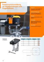 Rückmeldesysteme für Hubventile und Schwenkantriebe 2012 - 14