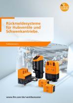 Rückmeldesysteme für Hubventile und Schwenkantriebe 2012 - 1