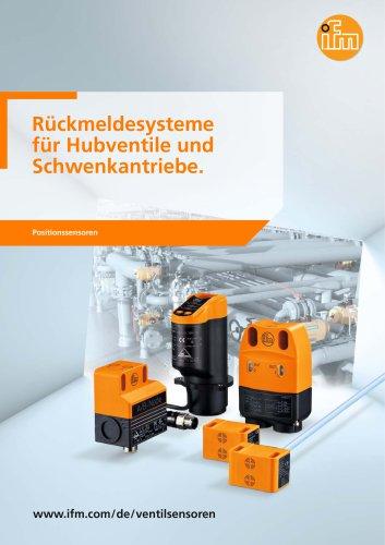 Rückmeldesysteme für Hubventile und Schwenkantriebe 2012