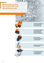 Rückmeldesysteme für Hubventile und Schwenkantriebe 2012 - 4