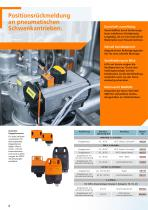 Rückmeldesysteme für Hubventile und Schwenkantriebe 2012 - 6