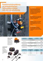 Rückmeldesysteme für Hubventile und Schwenkantriebe 2012 - 8