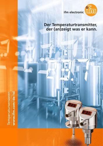 Der Temperaturtransmitter, der (an)zeigt was er kann.