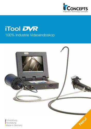 iTool DVR Industrie Videoskop (Technisches Endoskop)