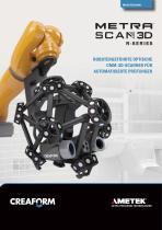 MetraSCAN-R: ROBOTERGEFÜHRTE OPTISCHE CMM-3D-SCANNER FÜR DIE AUTOMATISCHE INSPEKTION