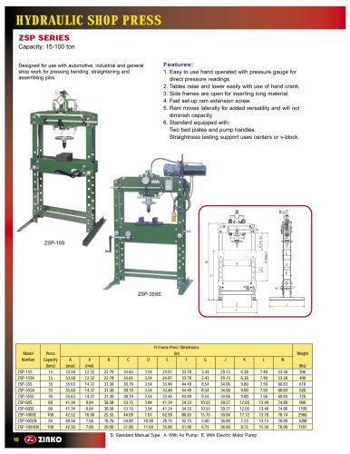 Shop Press - Manual