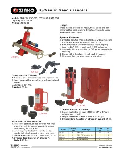 Tire Changing Equipment