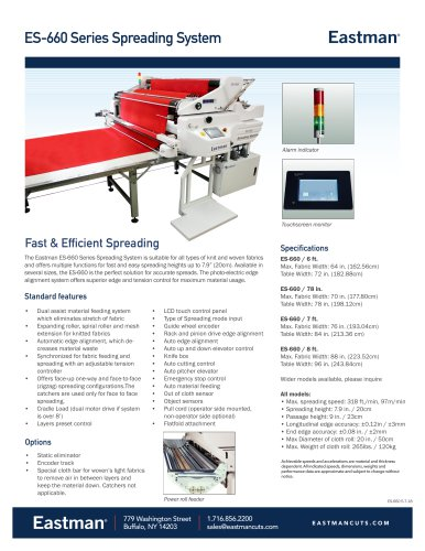 ES-660 Series Spreading System