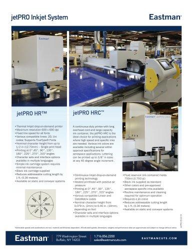jetPRO Inkjet System