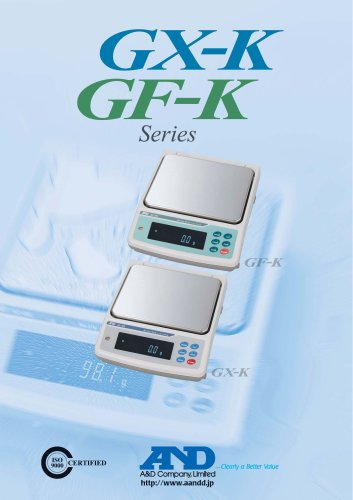 GX-K/GF-K Series of Precision Industrial Balances
