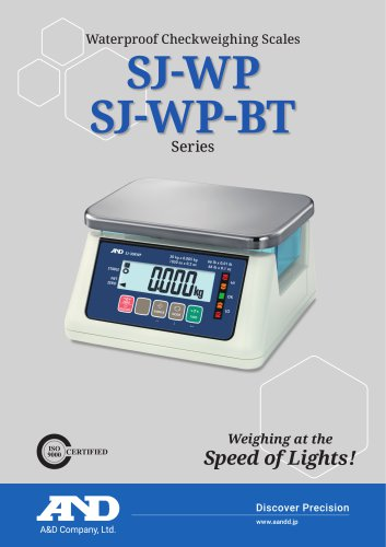SJ-WP/SJ-WP-BT Series of Waterproof Checkweighing Scales