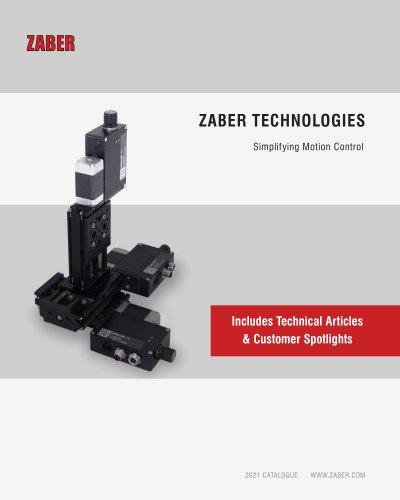 Zaber's 2021 Catalogue