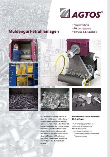 Muldenband-Strahlanlage