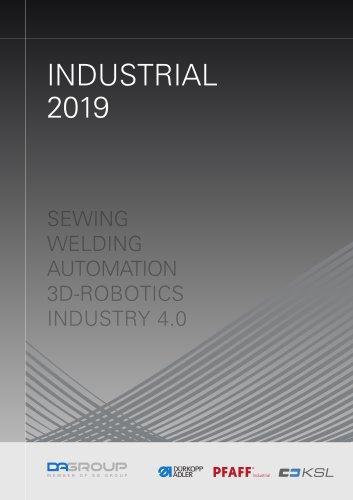PFAFF Industrial General Catalog Industrial 2019