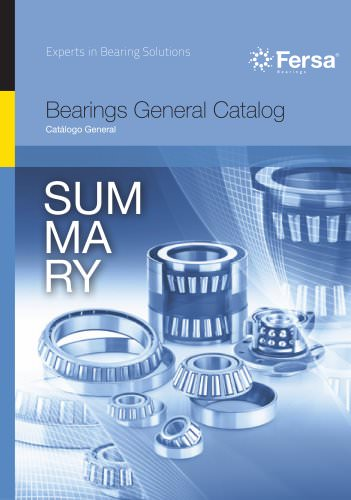 Summary General Catalog 2013