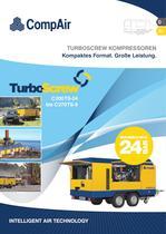 TurboScrew fahrbare Kompressoren