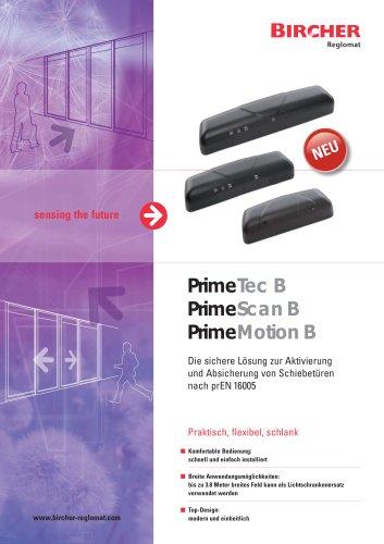 PrimeTec / PrimeScan / PrimeMotion B