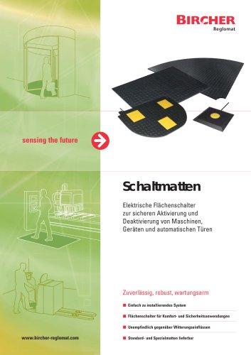 Schaltmatten Broschüre