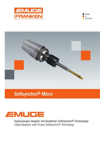 EMUGE Softsynchro Micro Spannzangen Adapter