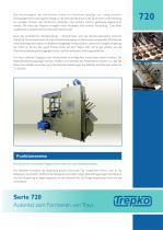 720 Series  tray erecting machine