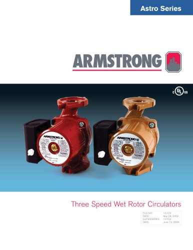 Astro Series 3-Speed Circulators