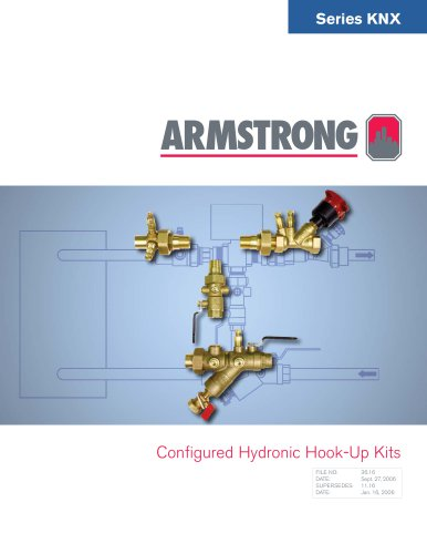 KNX Configured Hydronic Hook-Up Kits