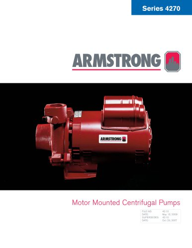 Series 4270 Motor Mounted Pumps
